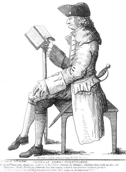 Painting - James Oglethorpe (1696-1785) by Granger