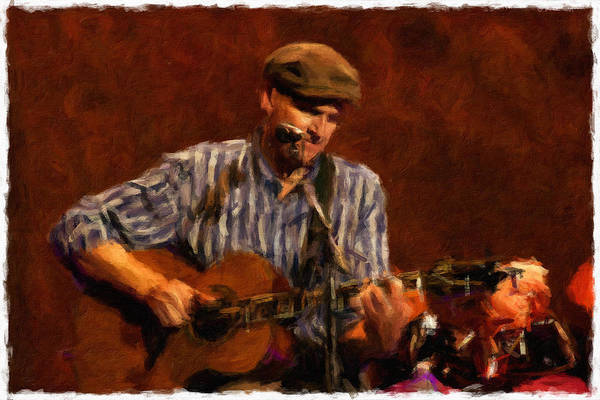 Photograph - James On Guitar by Alice Gipson