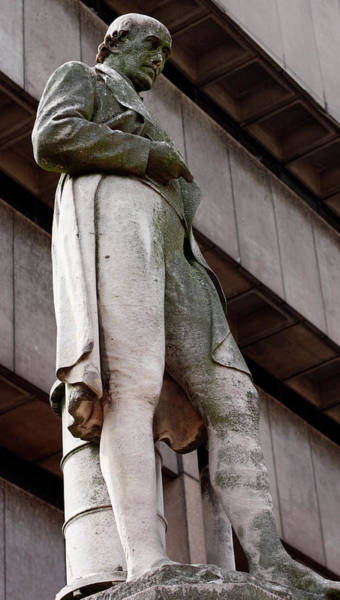 Inventor Photograph - James Watt Statue by Universal History Archive/uig