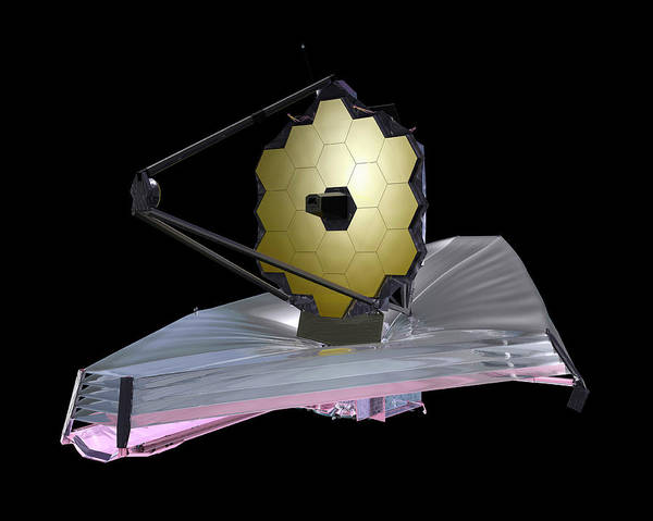 21st Century Photograph - James Webb Space Telescope by Nasa
