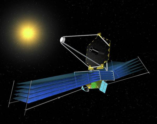 Infrared Radiation Photograph - James Webb Space Telescope by Paul Wootton/science Photo Library