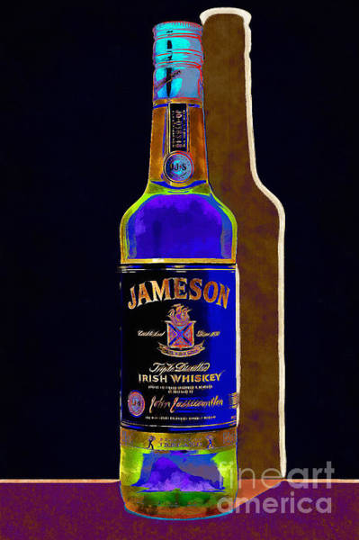 Wall Art - Photograph - Jameson Irish Whiskey 20140916wc V2 by Wingsdomain Art and Photography