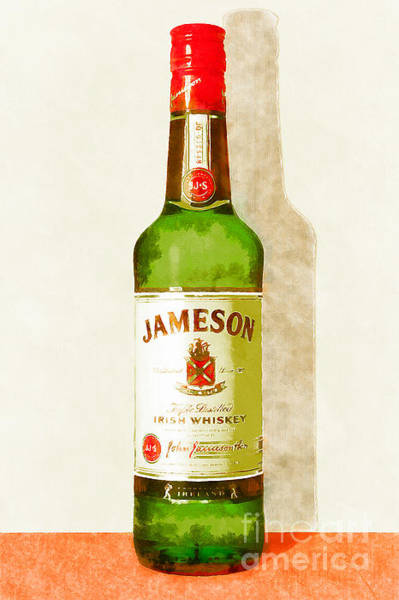 Wall Art - Photograph - Jameson Irish Whiskey 20140916wc by Wingsdomain Art and Photography