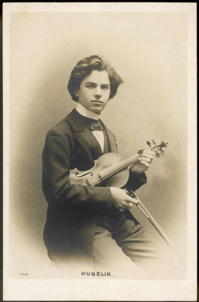 Wall Art - Photograph - Jan Kubelik  Czech-hungarian Musician by Mary Evans Picture Library