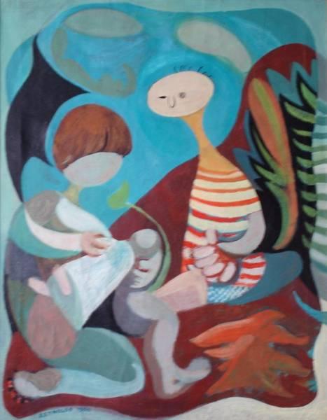 Jan Mike Ayah Art Print