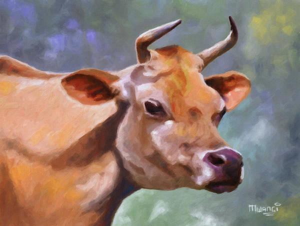 Breeding Painting - Jane by Anthony Mwangi
