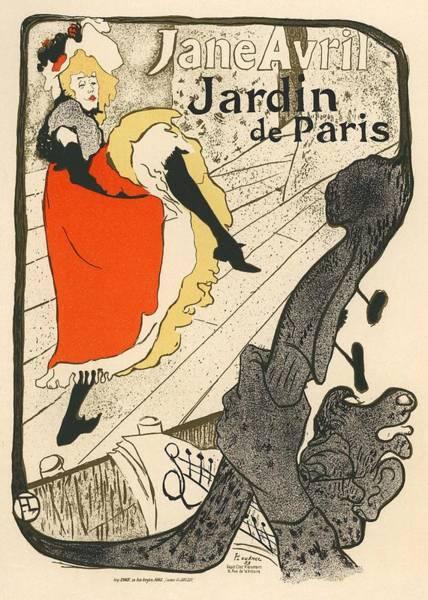 Nouveau Photograph - Jane Avril Jardin De Paris by Gianfranco Weiss