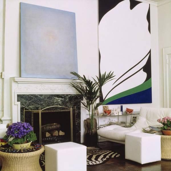 Wall Art - Photograph - Jane Holzer's Bedroom by Horst P. Horst