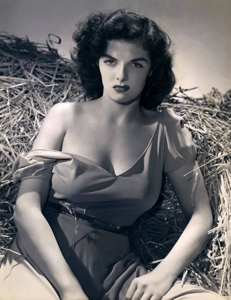 Leading Actress Wall Art - Photograph - Jane Russell by Daniel Hagerman