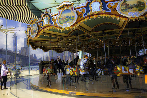 Wall Art - Photograph - Jane's Carousel 1 In Dumbo by Madeline Ellis