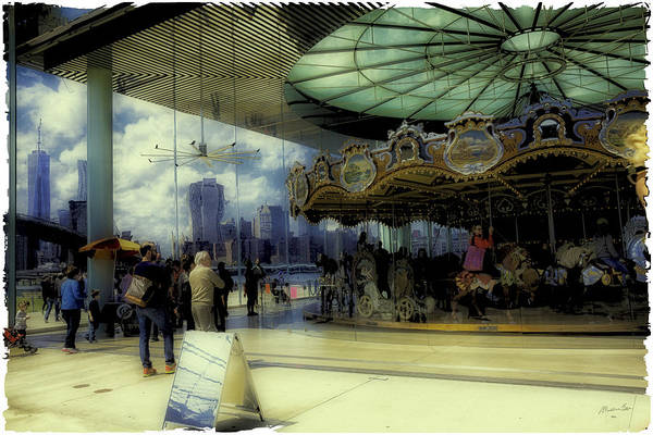 Wall Art - Photograph - Jane's Carousel 3 In Dumbo by Madeline Ellis