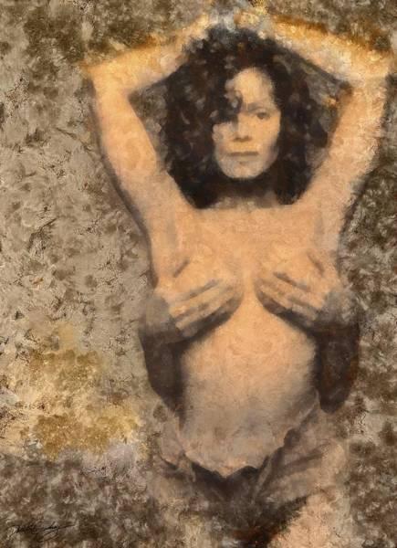 Painting - Janet Jackson - Tribute by Derek Gedney