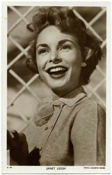 Wall Art - Photograph - Janet Leigh (1927 - 2004), (jeanette by Mary Evans Picture Library