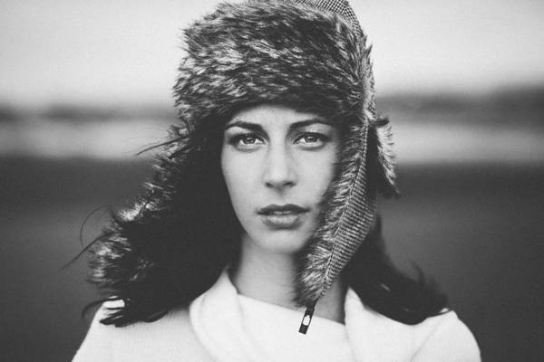 Hats Photograph - Janet by Nir Amos