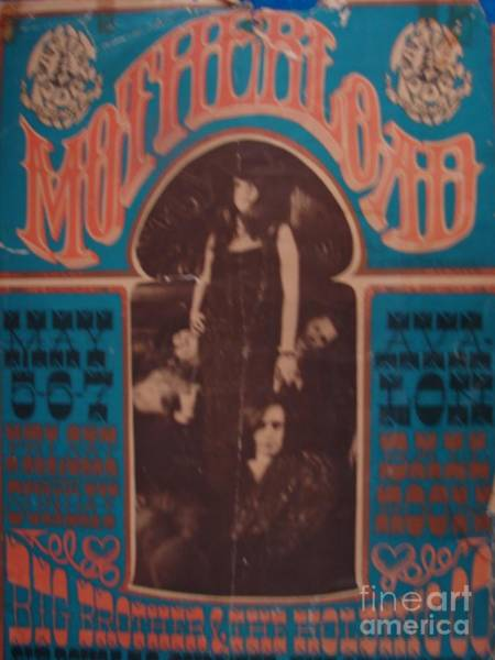 Janis Joplin Photograph - Janis Joplin Vintage Poster Photo 1967 by Windy Mountain