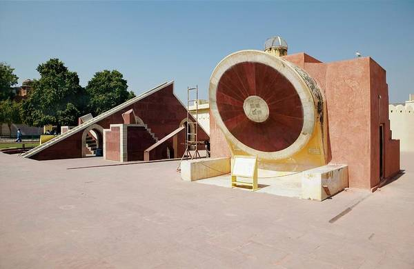 Developing Country Photograph - Jantar Mantar Observatory by Colin Cuthbert/science Photo Library