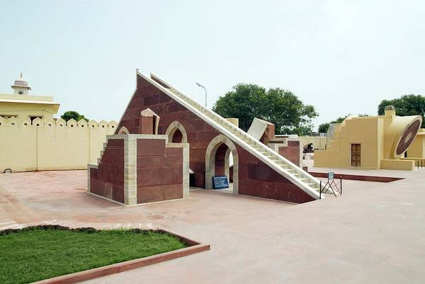 Developing Country Photograph - Jantar Mantar Observatory by Photostock-israel/science Photo Library