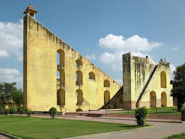 Singh Wall Art - Photograph - Jantar Mantar Observatory by Steve Allen/science Photo Library