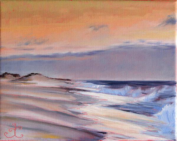 January Skies II Art Print