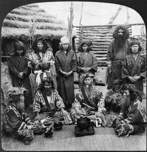 Photograph - Japan: Ainu, C1906 by Granger