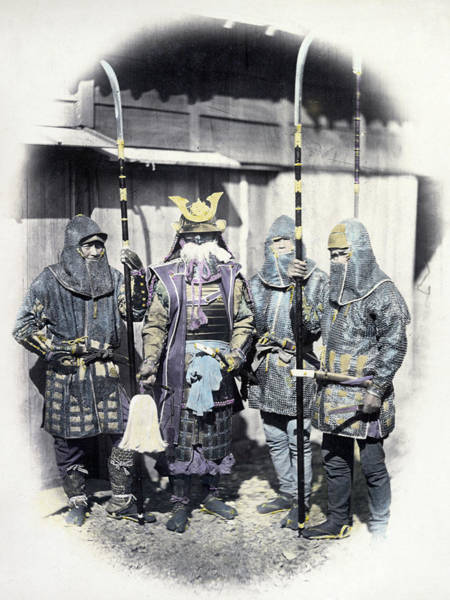 Wall Art - Photograph - Japan Armor, C1866 by Granger