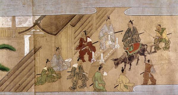 Feudal Japan Wall Art - Painting - Japan Farmers, C1575 by Granger