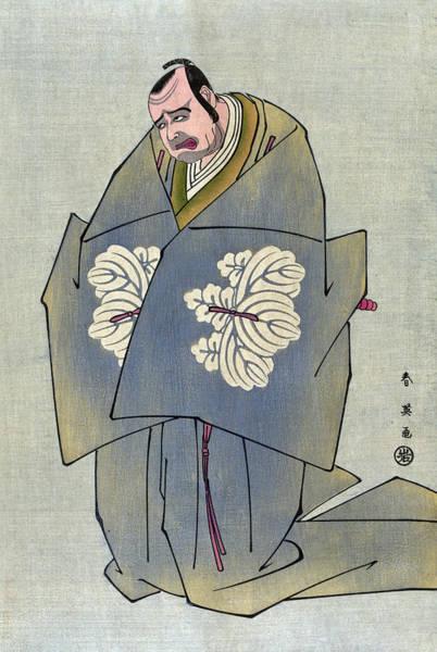 Wall Art - Painting - Japan Kabuki Actor, 1793 by Granger