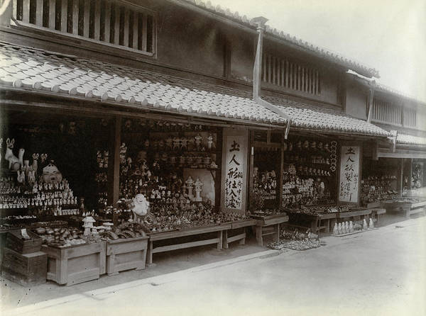 Photograph - Japan Stores, C1900 by Granger
