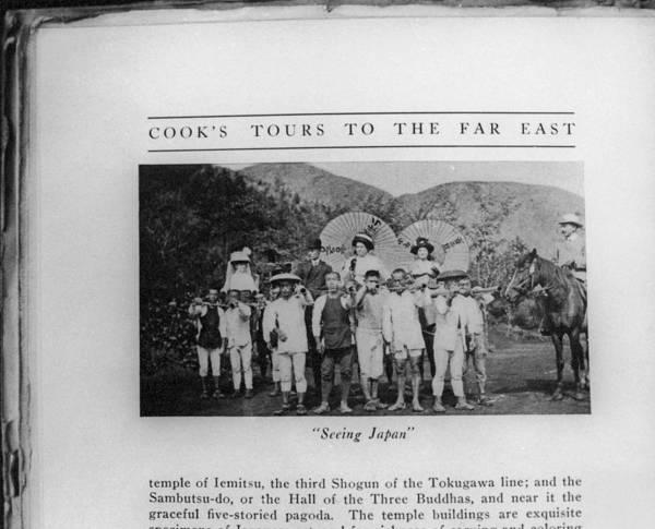 Coolie Photograph - Japan Tourism, 1917 by Granger