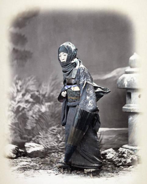 Photograph - Japan Woman, C1868 by Granger