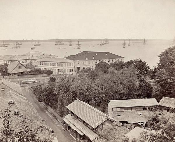 Photograph - Japan Yokohama, 1880s by Granger