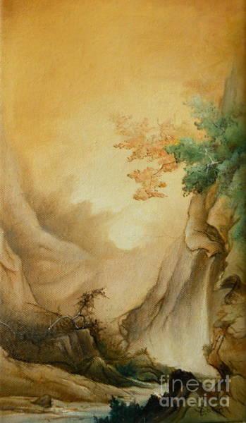 Painting - Japanese Autumn by Sorin Apostolescu