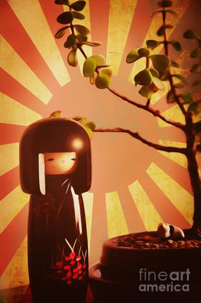 Bonsai Tree Digital Art - Japanese Bonsai by Brian Mollenkopf