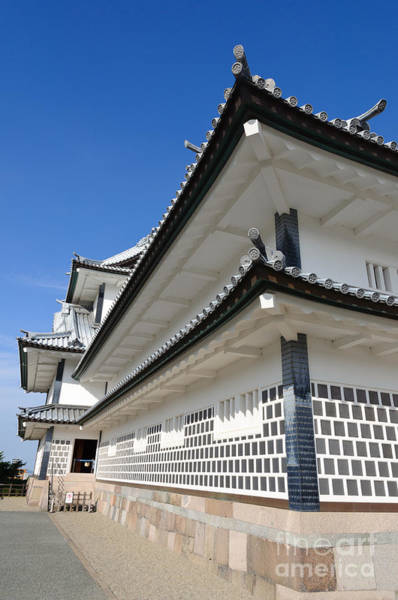 Photograph - Japanese Castle Close-up by David Hill