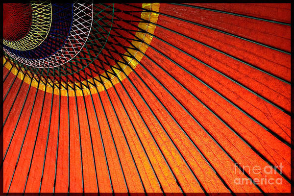 Photograph - Japanese Umbrella by Michael Arend