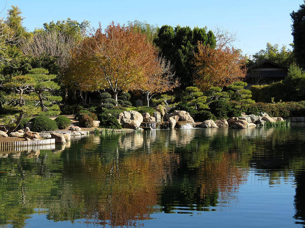 Himeji Photograph - Japanese Friendship Garden by Laurel Powell