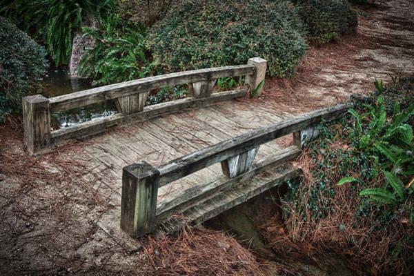 Photograph - Japanese Garden Bridge by James Woody
