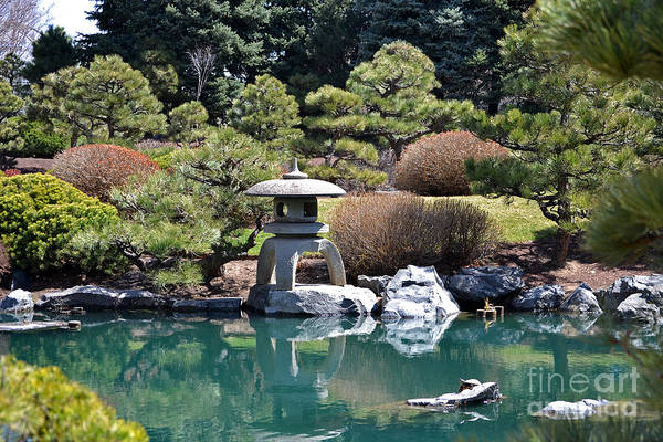 Photograph - Japanese Garden by Elle Arden Walby