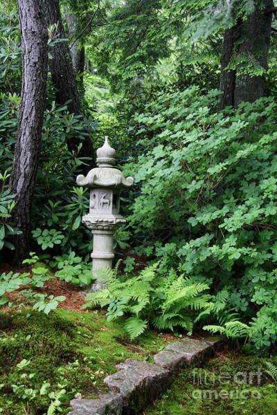 Wall Art - Photograph - Japanese Garden Lantern by Christiane Schulze Art And Photography