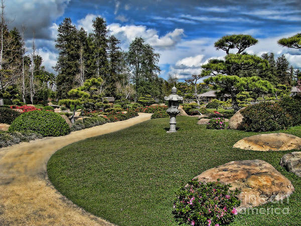 Wall Art - Photograph - Japanese Garden Of Water And Fragrance 1 by Peter Awax