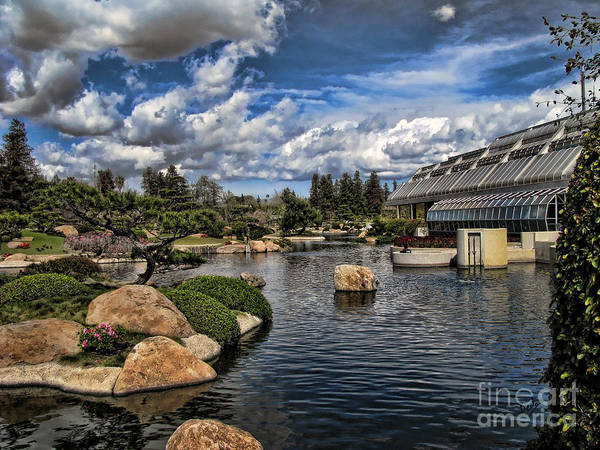 Wall Art - Photograph - Japanese Garden Of Water And Fragrance 4 by Peter Awax