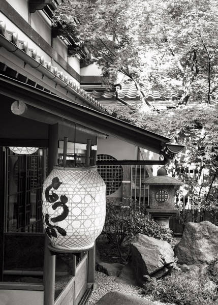 Photograph - Japanese Lantern by For Ninety One Days