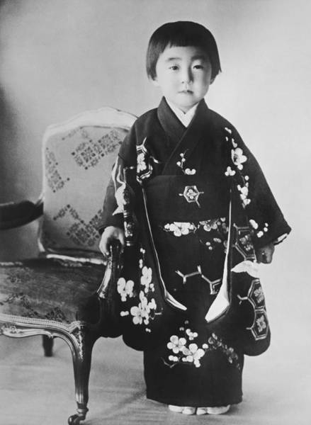 Emperor Photograph - Japanese Princess Teru by Underwood Archives