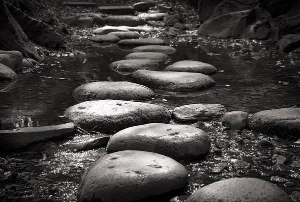 Photograph - Japanese Stone Bridge by For Ninety One Days
