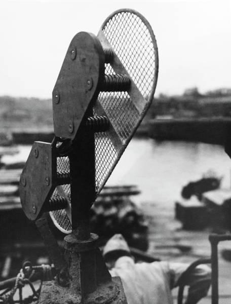 Interceptor Photograph - Japanese Submarine Radar Antenna by Us Navy/us National Archives/science Photo Library