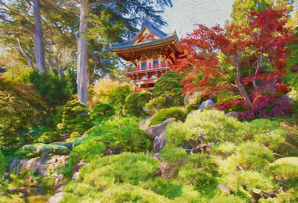 Photograph - Japanese Tea Garden by John M Bailey