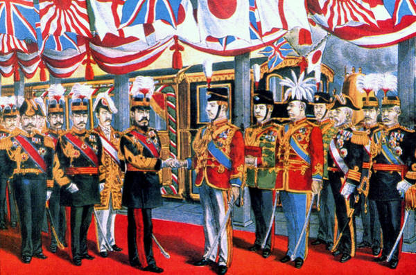Emperor Of Japan Wall Art - Painting - Japanese/u by Granger