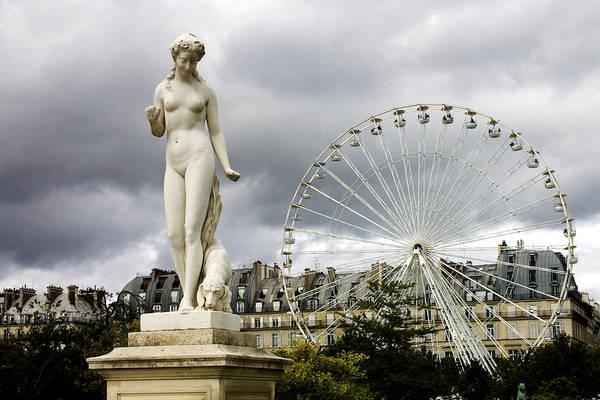 Jardin Wall Art - Photograph - Jardin Des Tuileries by Fabrizio Troiani