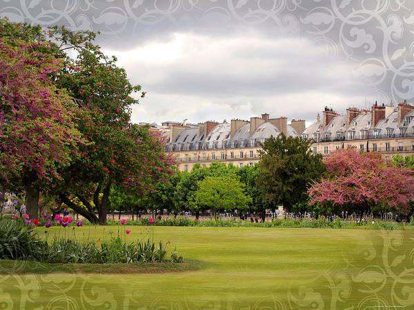 Jardin Des Tuileries Photograph - Jardin Des Tuileries Paris France by Heidi Hermes