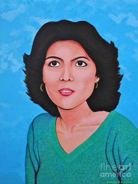 Painting - Jasmina by Cyril Maza